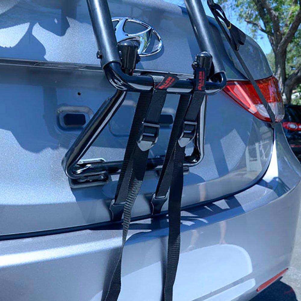 Allen Sports Premier 3 Bike Foldable Steel Trunk Carrier with Tie Down Straps - image 5 of 6