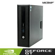 Hp Gaming Computer 600-G1 (3.6Ghz) 16GB 500GB Nvidia GT 1030 HDMI WiFi USB 3.0 Windows 10 (Refurbished)