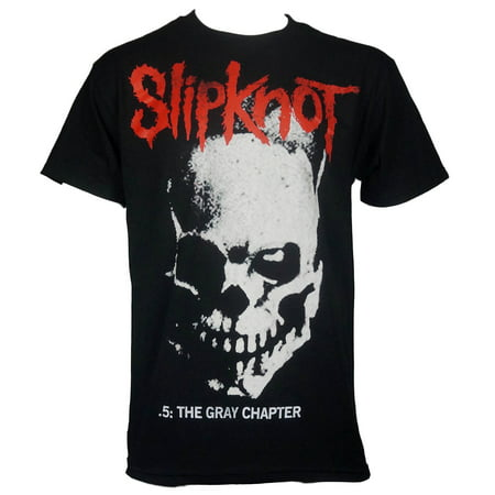 slipknot mens skull and tribal gray chapter t-shirt (Slipknot Jumpsuit For Sale)