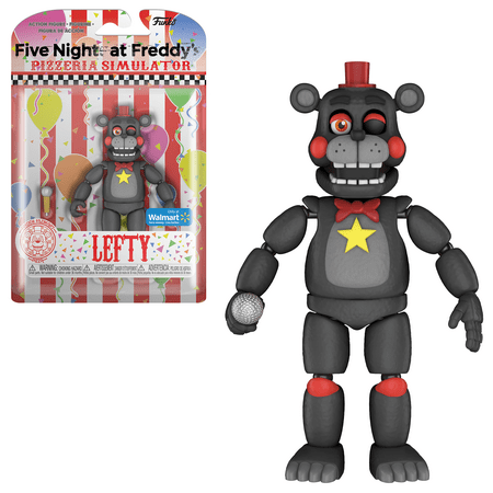 Funko Action Figure: Five Nights At Freddy's - Pizzeria Simulator - Lefty - Walmart Exclusive