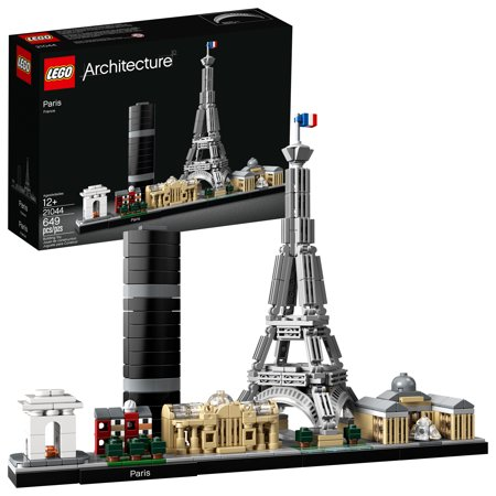 LEGO Architecture Skyline Collection Paris 21044 Building (Best Collector Lego Sets)