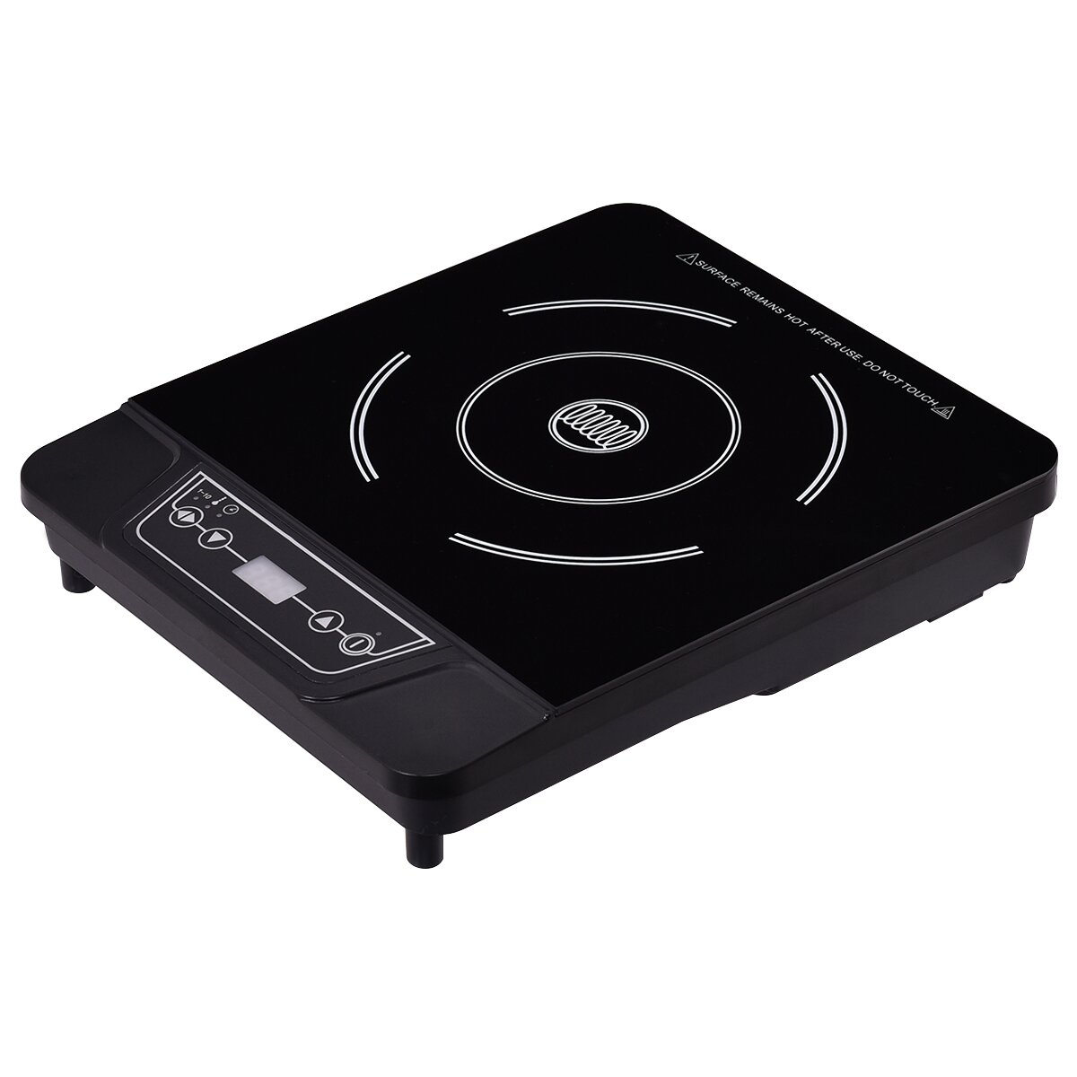 Gymax New Portable Single Burner Digital Hot Plate Electric Induction Cooker 1800W