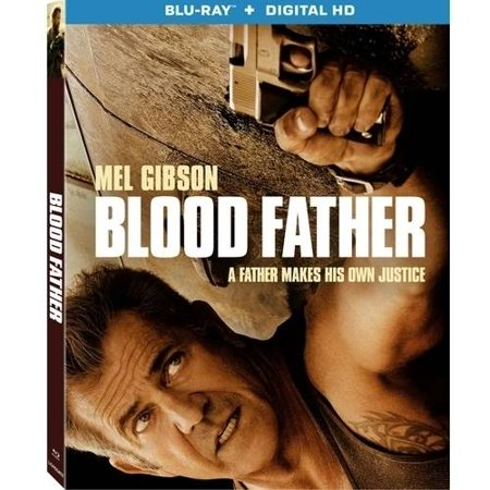 Blood Father  Blu Ray   Digital Hd   With Instawatch