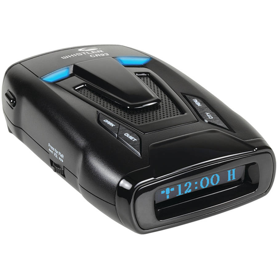 Whistler CR93 Maximum Performance Laser Radar Detector w  Internal GPS by Whistler