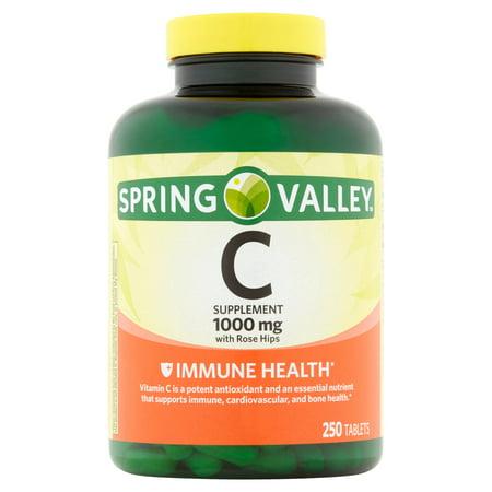 La vitamine C naturelle avec églantier supplément alimentaire 250 ct