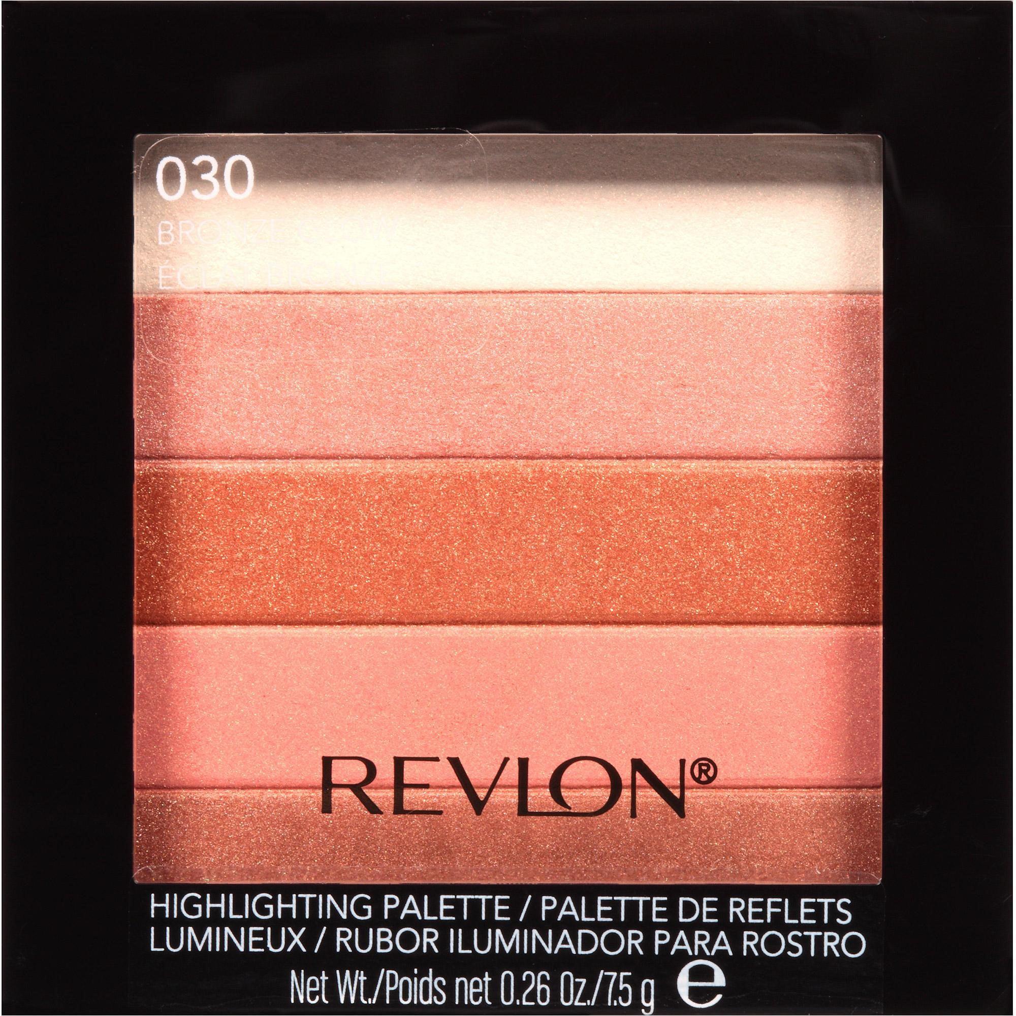 Revlon Highlighting Pallette, 030 Bronze Glow, 0.26 Oz