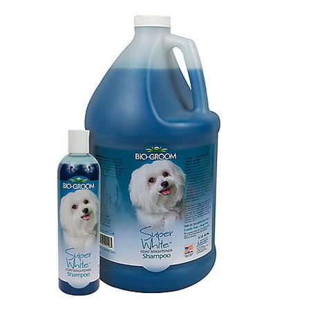 Bio-groom super white shampoo, 1-gallon bottle