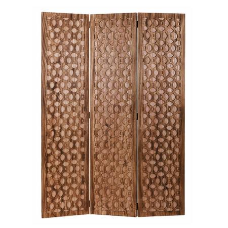Screen Gems Carved Wood Screen -