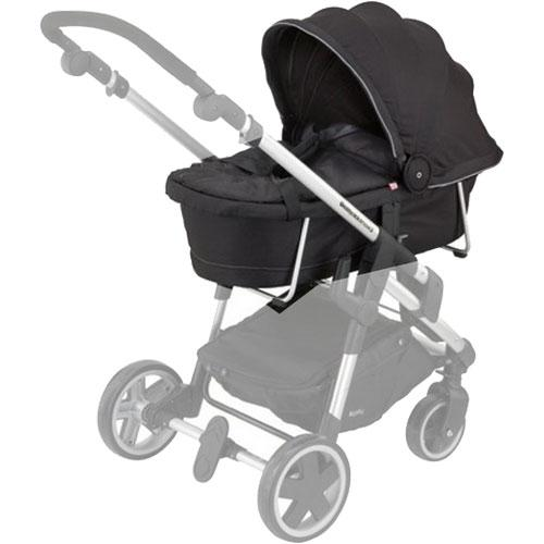Kiddy 56-120-CC-077 - Click n Move 3 Carrycot - Racing Black