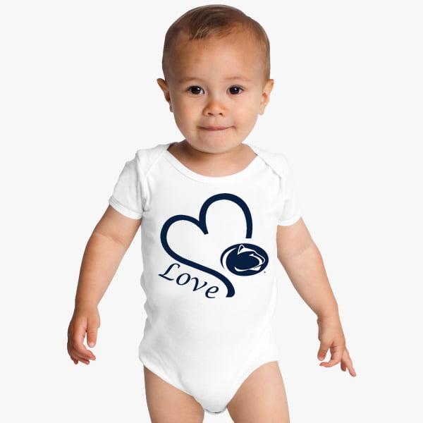 Penn State Nittany Lions Love Baby Onesie