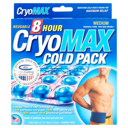 Pac Cold Pack - CryoMax Reusable 8 Hour Medium Cold Pack