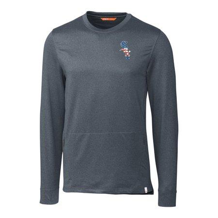 Chicago White Sox Cutter & Buck Stars & Stripes Jackson Pullover Sweater - Navy Bo Jackson White Sox