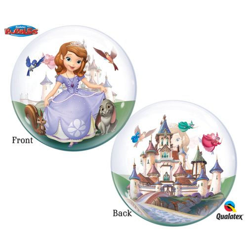 "Burton & Burton 22"" Sofia The First Bubble Balloon"