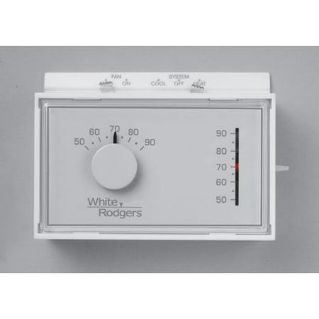 White-Rodgers 1F56N-444 Universal Horizontal Heat/Cool ...