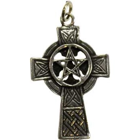 Fortune Telling Toys Supernatural Protection Supplies Cross Celtic Pentagram Powers Necklace - Fortune Cookie Necklace