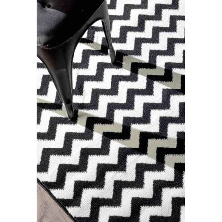 nuLOOM Machine-Made Chev Area Rug or Runner