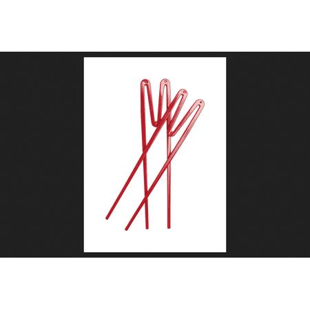 Joyce Chen Quick Sticks Training Chopsticks Plastic Red 2 pk