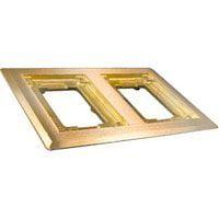 Walker 827B 2-G Brass Carpet Flange