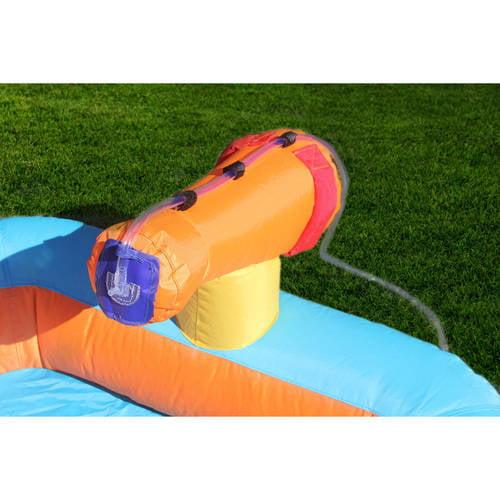 Inflatable Slide Pool Tesco: Inflatable Water Slide Kids Outdoor Backyard Splash