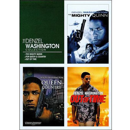 The Denzel Washington Triple Feature: Out Of Time / The Mighty Quinn / For Queen & Country (Widescreen)