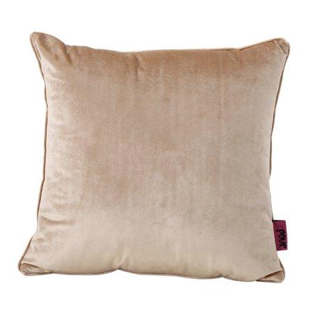 - Isadora New Velvet Pillow, Bisque