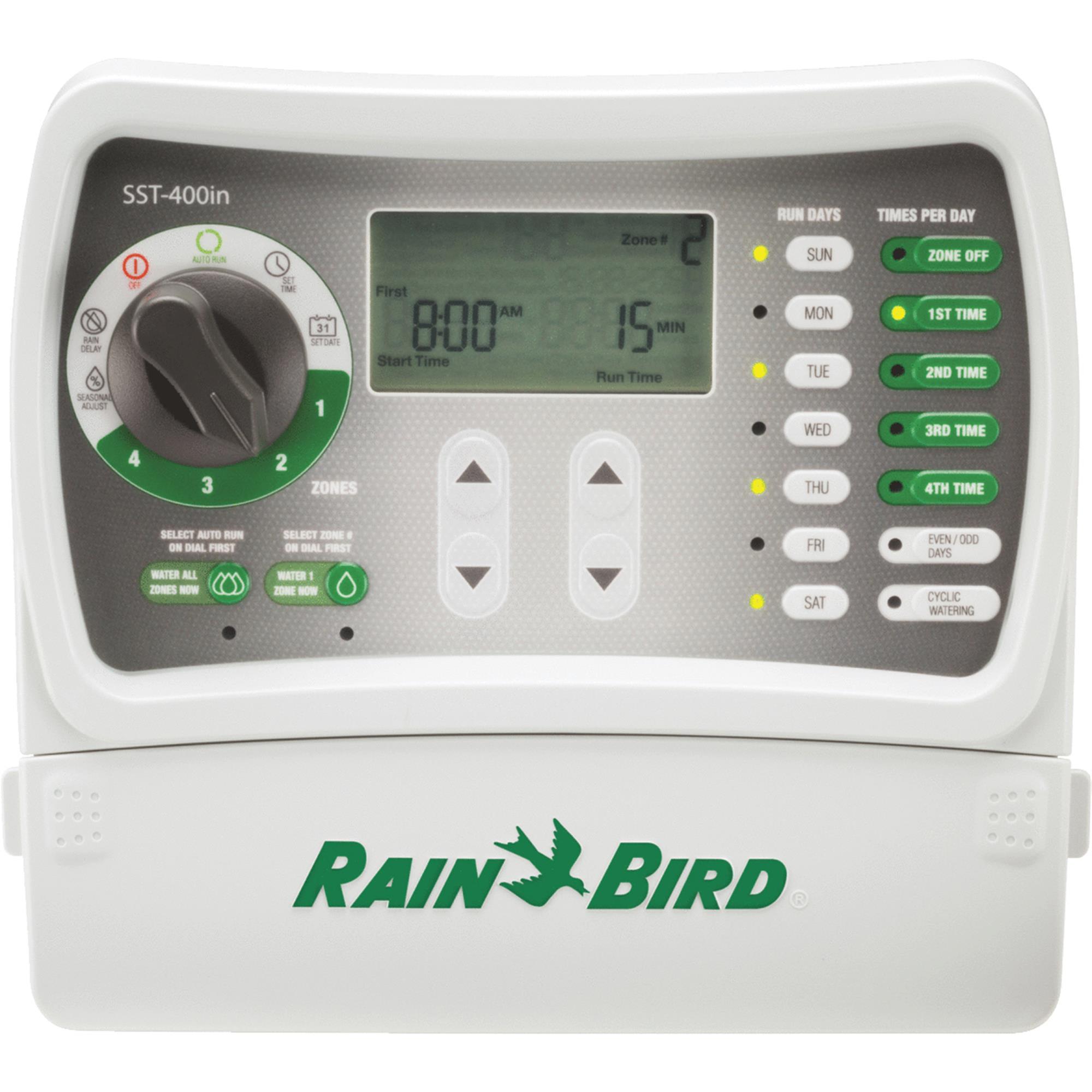 Rainbird SST-400i 4 Station indoor Automatic Sprinkler Timer