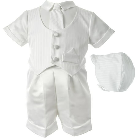 Christening Baptism Newborn Baby Boy Special Occasion 3 Pc