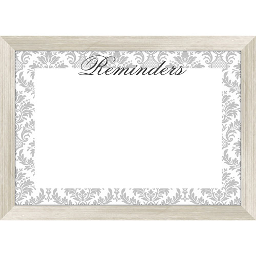 Gray Damask Whiteboard