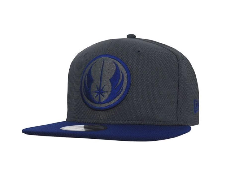 New Era Diamond Star Wars Jedi Dark Graphite Royal Snapback Cap 9fifty 950 OSFA