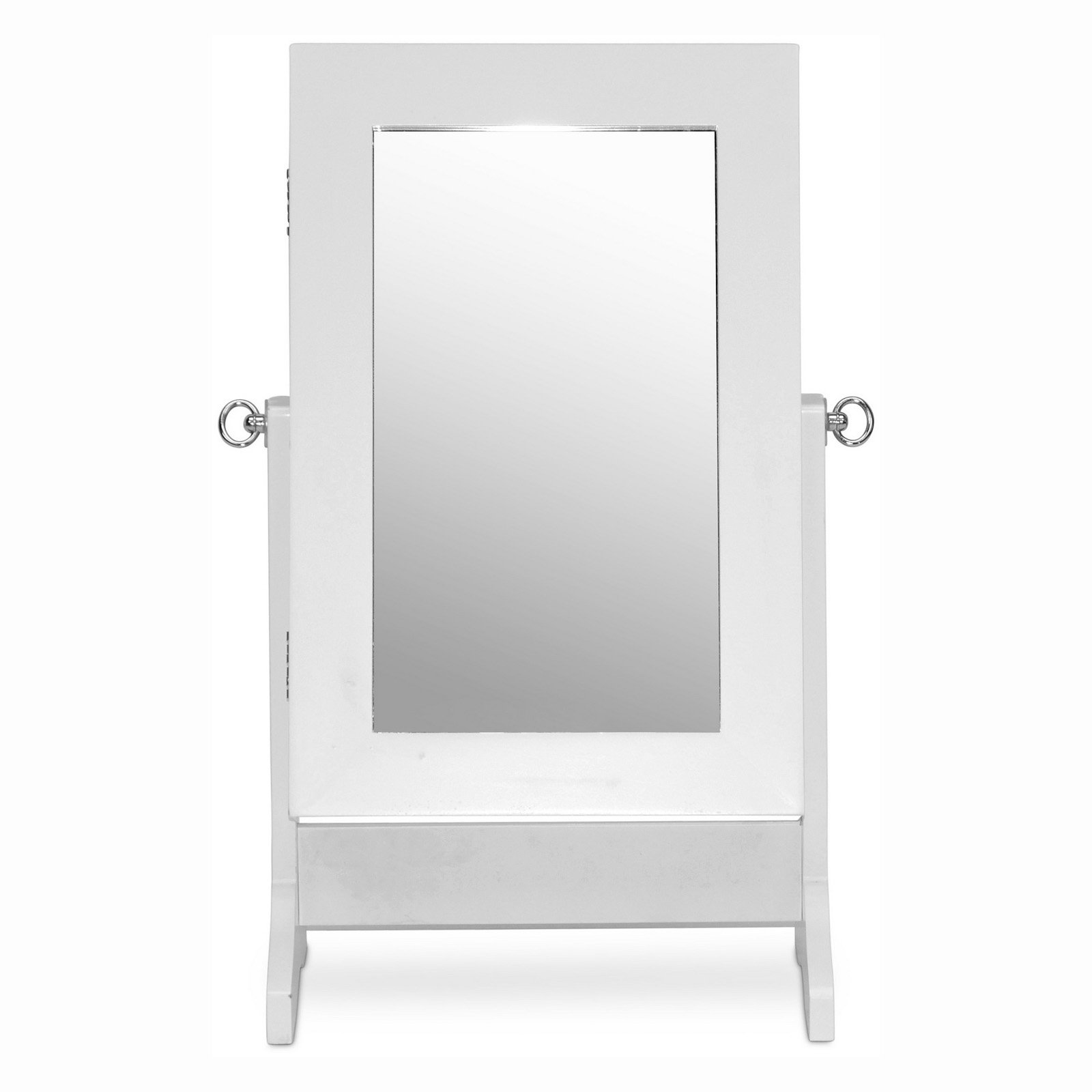 Baxton Studio Wessex Tabletop Cheval Mirror Jewelry Armoire by Wholesale Interiors