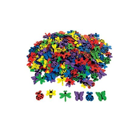 Bug Foam Shape (Colorations Bug Foam Shapes - 500 Pieces (Item # BFS) )