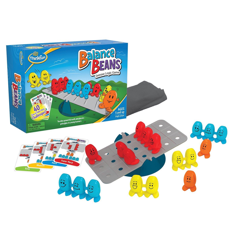 Balance Beans Game, A seesaw logic game for children 5 an...