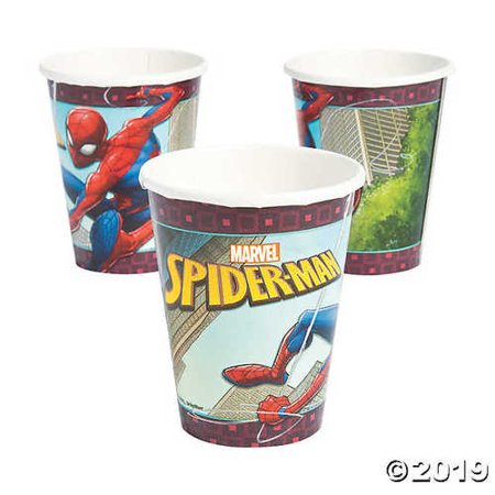 Spiderman Paper Cups (Ultimate Spider-Man Paper)