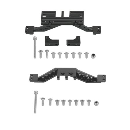 Front/Rear Axle Reinforcement Alloy 4 Link Rod Axle Mount Set For Axial Scx10 - image 4 of 8
