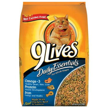 9Lives Daily Essentials Dry Cat Food 7 Lb