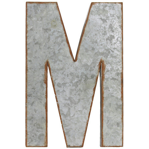 Urban Trends Alphabet Letter ''M'' Wall Decor