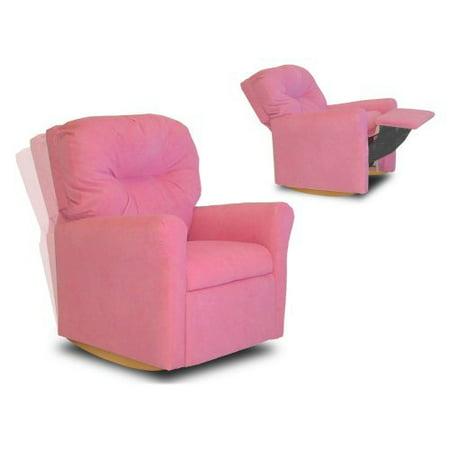 Dozydotes 10732 Contemporary Rocker Hot Pink - Hot Pink Chairs