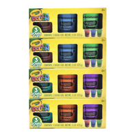 Crayola Dough 12 Pack with 6 Colors, 60oz