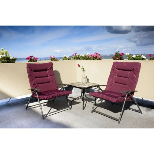 Winston Porter Surfwood 3 Piece 2 Person Seating Group with Cushions