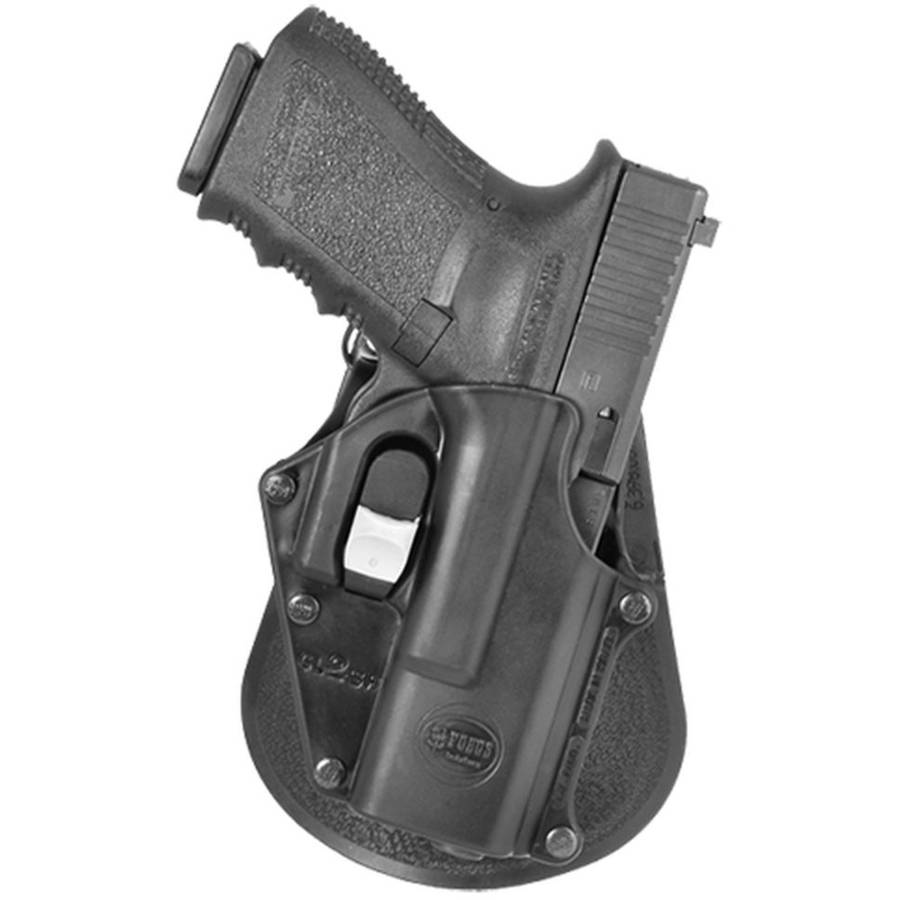Fobus GL2DPH Digit Path Paddle Holster for Glock Black, Plastic by FOBUS USA