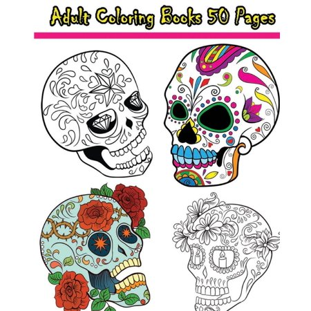 Adult Coloring Books 50 Pages Reduce Stress And Bring Balance With