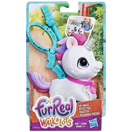 furReal Walkalots Lil' Wags Unicorn, for Ages 4 and Up