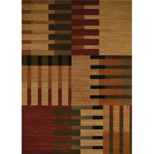 United Weavers 750 04675 58 5 ft. 3 in. x 7 ft. 2 in. Affinity Balance Area Rug, Multicolor - image 1 de 1