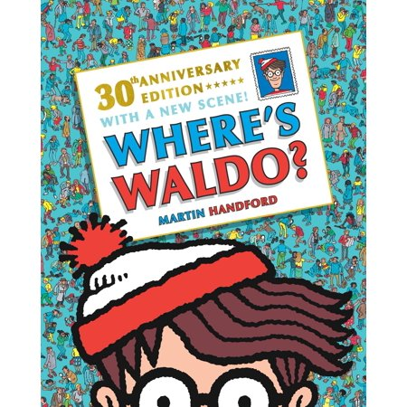 Where's Waldo? 30th Anniversary Edition (Paperback) - Wario Girl