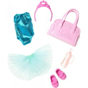 Barbie Club Chelsea Ballerina Outfit & Accessories Set Doll Clothing