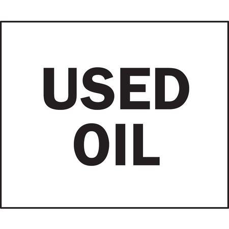 BRADY 122608 CHEMICAL & HAZARDOUS MATERIALS SIGN