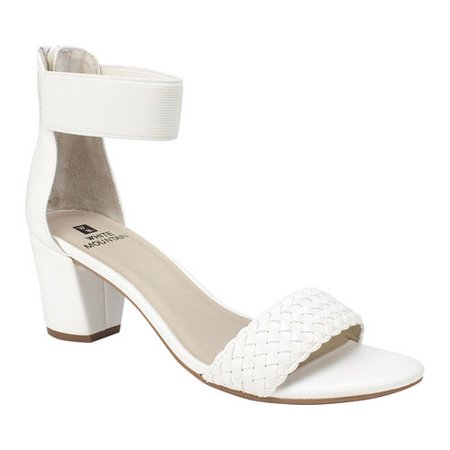 e81ef85c0 White Mountain - Women's White Mountain Eryn Ankle Strap Sandal -  Walmart.com