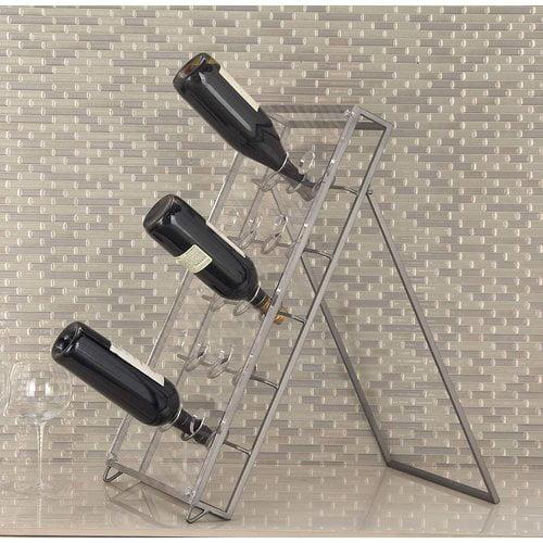 Cole & Grey 15 Bottle Tabletop Wine Bottle Rack