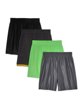 Garanimals Toddler Boy Dazzle Jersey Athletic Shorts, 4pk