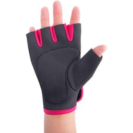 Tone Fitness Weight Gloves, Pink
